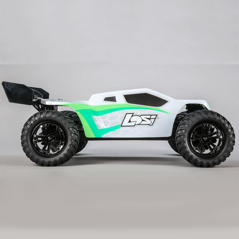 1/10 TENACITY-T 4WD Truggy Brushless RTR with AVC, White/Green