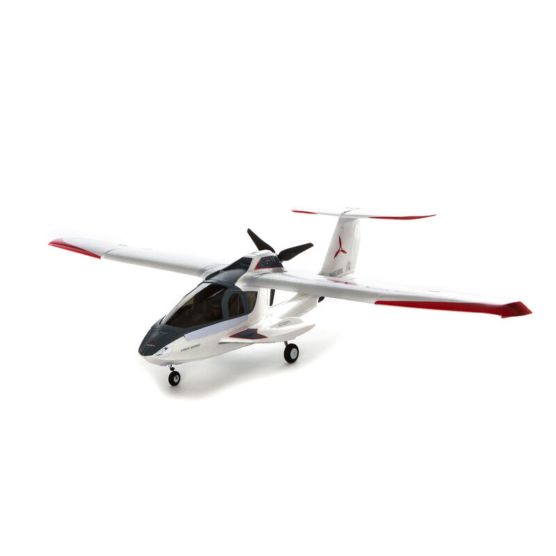 ICON A5 1.3m BNF Basic with AS3X and SAFE Select