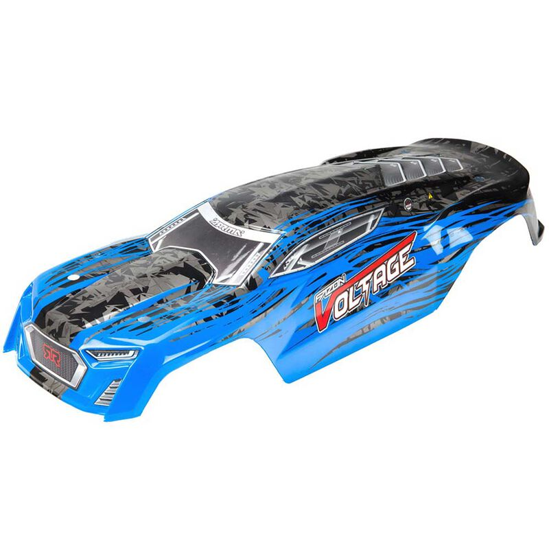 Painted Body with Decals, Blue/Black: Fazon Voltage