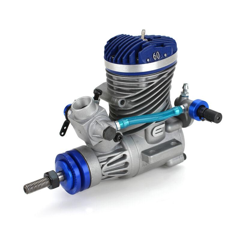 moteur avec échappement Evolution .60NX