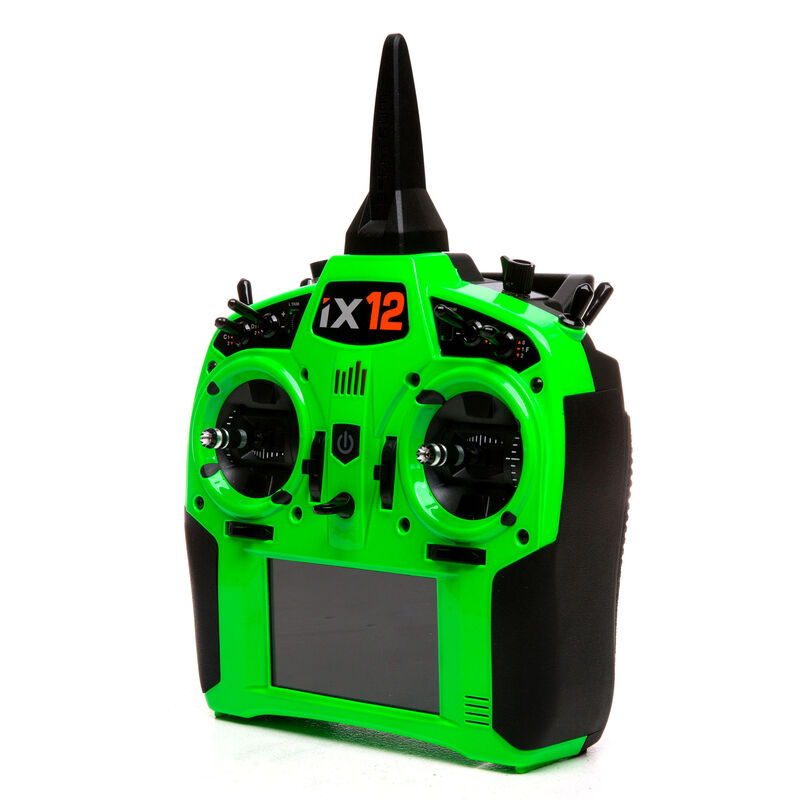 iX12 12-Channel DSMX Transmitter Only, Green
