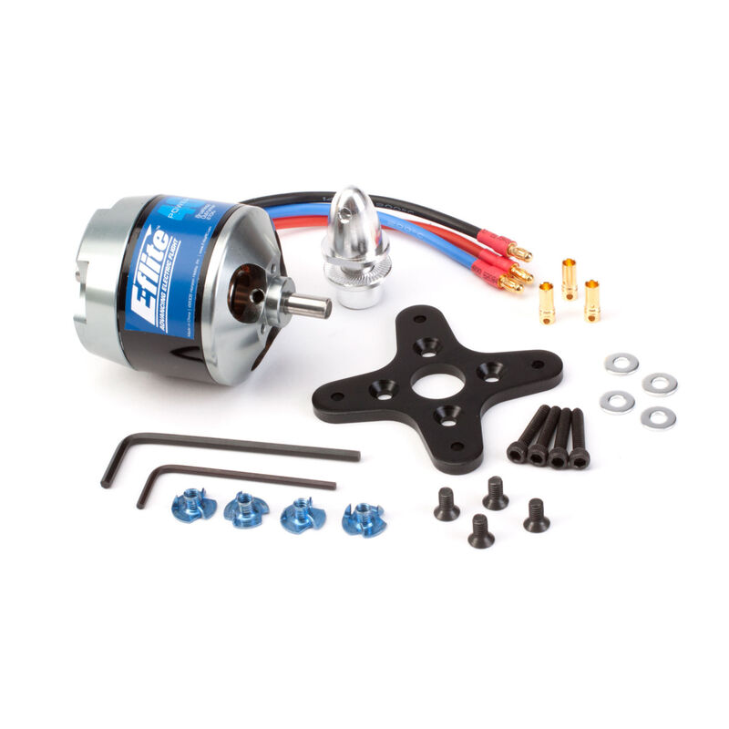 Power 46 Brushless Outrunner Motor, 670Kv: 3.5mm Bullet