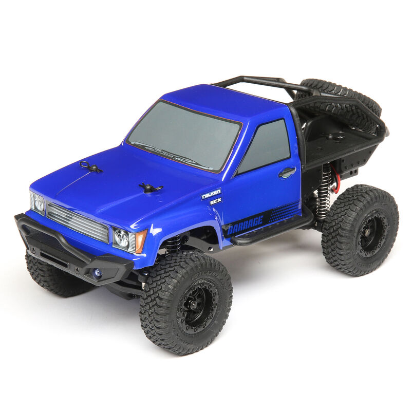 1/24 Barrage 4WD Scaler Rock Crawler RTR, Blue