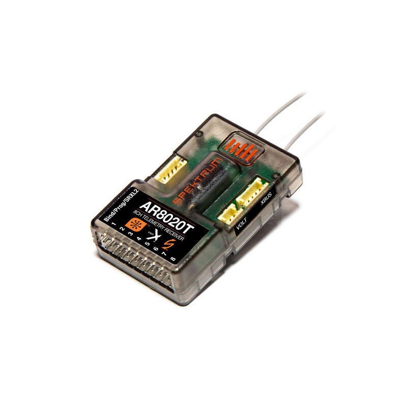AR8020T 8-Channel Telemetry Receiver