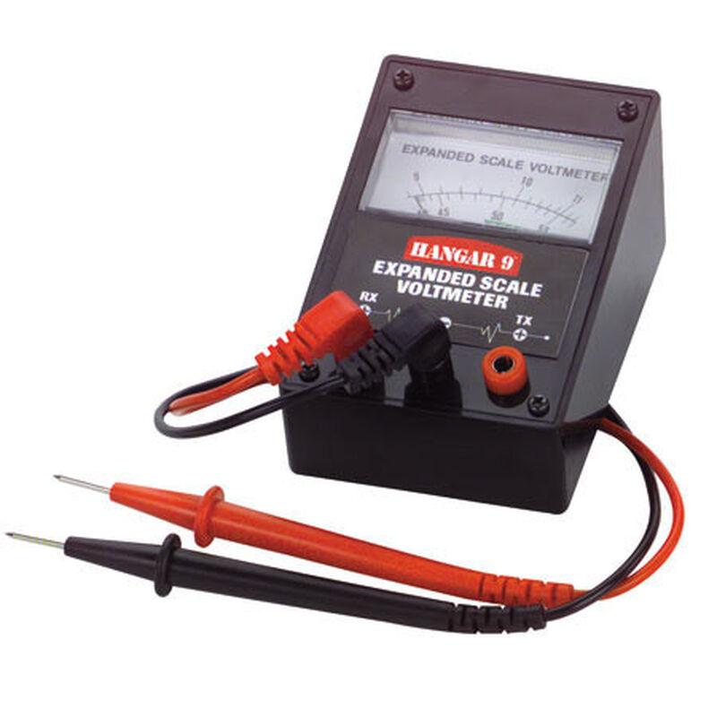 Voltmètre avec câbles de mesure