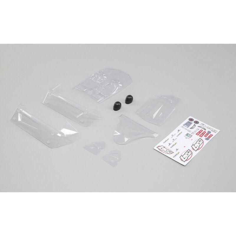 1/14 Clear Body Set: Mini 8IGHT-DB