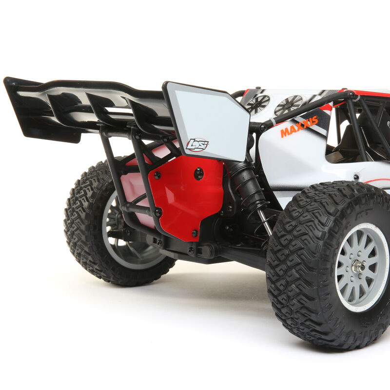 1/10 TENACITY-DB 4WD Desert Buggy Brushless RTR with AVC, Red/Grey