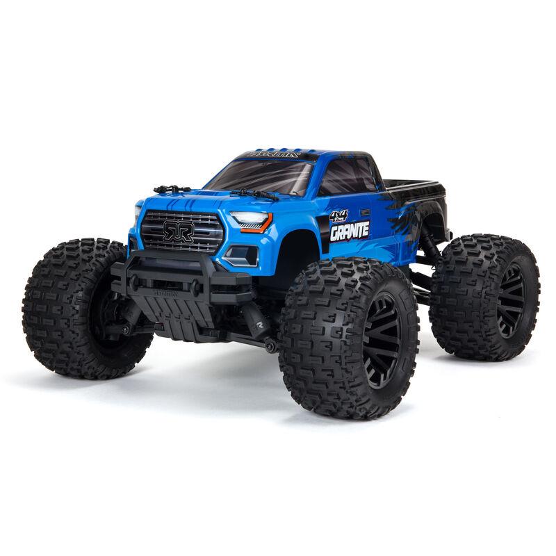 1/10 GRANITE 4X4 V3 MEGA 550 Brushed Monster Truck RTR, Blue