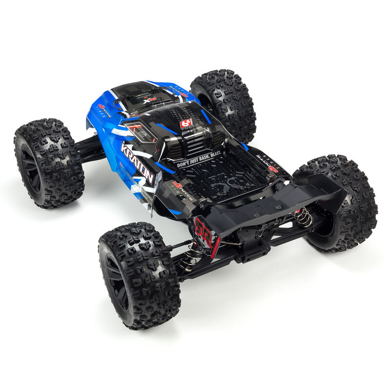 1/8 KRATON 6S BLX 4WD Brushless Speed Monster Truck with Spektrum RTR, Blue