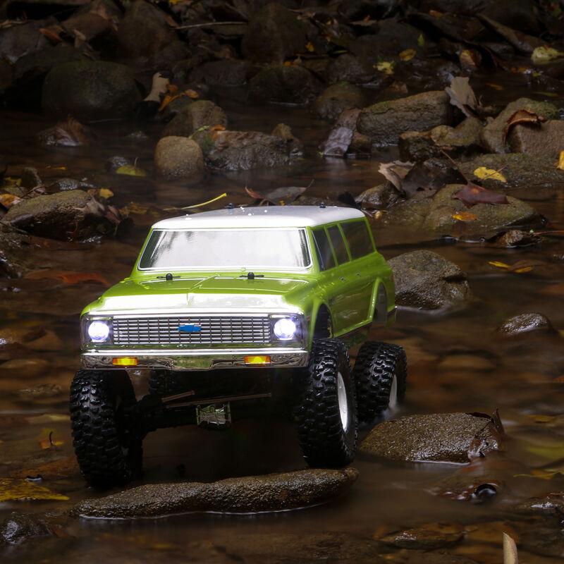 1/10 1972 Chevy Suburban Ascender-S 4WD Rock Crawler Brushed RTR