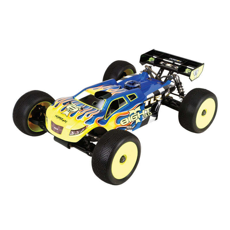 1/8 8IGHT-T 3.0 4WD Nitro Truggy Race Kit