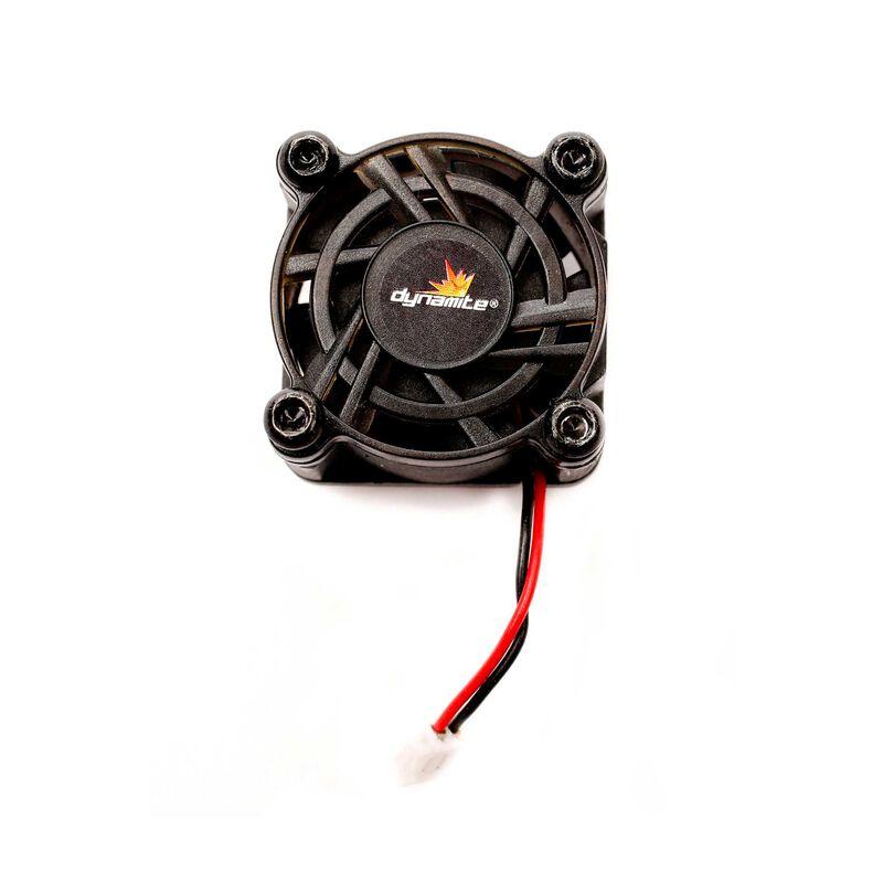 Cooling fan: Tazer 45A, Fuze 70A