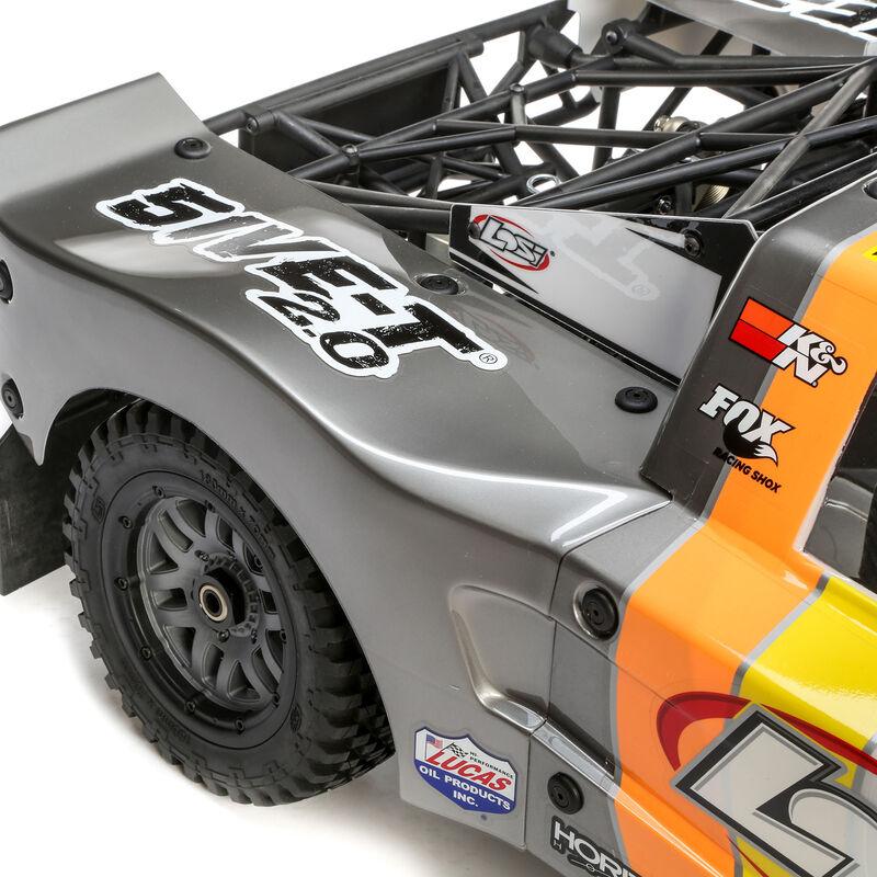 1/5 5IVE-T 2.0 4WD Short Course Truck Gas BND, Grey/Orange/White
