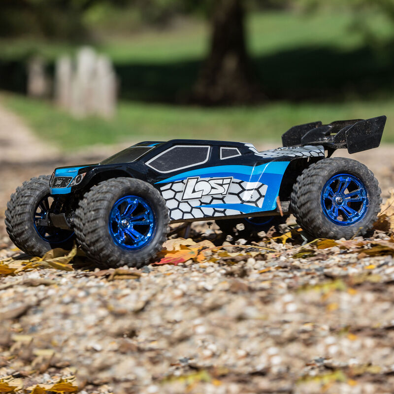 1/10 TENACITY-T 4WD Truggy Brushless RTR with AVC, Blue/Black