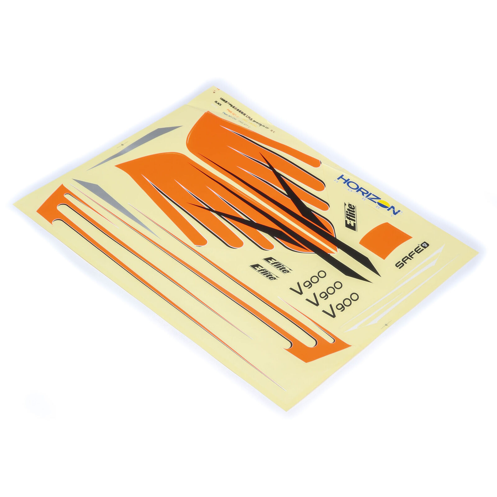 Decal Sheet: V900, 900mm