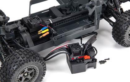 Easy-access electronics module