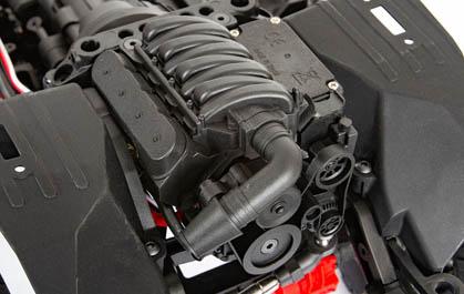 REPLICA V8 ENGINE COVER, TRANSMISSION HOUSING AND TRANSFER CASE