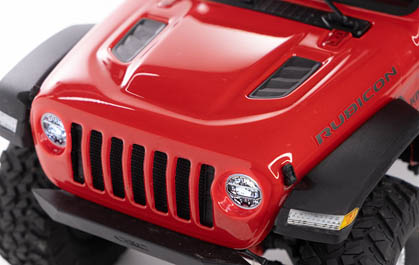 HIGHLY DETAILED LEXAN BODY WITH INJECTION-MOLDED FEATURES