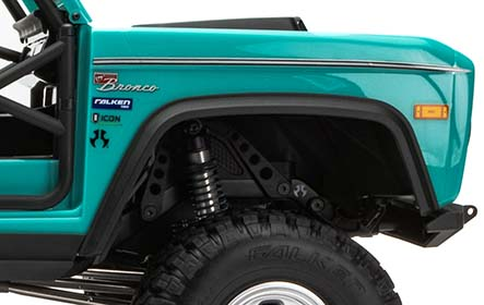 FENDER LINERS AND FLOOR SIDES