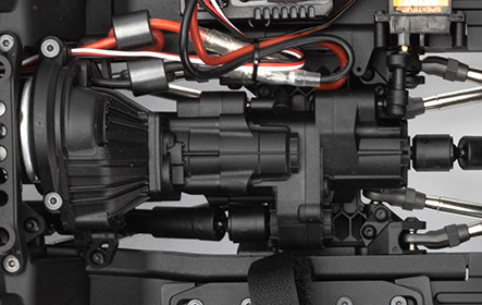 FRONT DIG TRANSMISSION & TWO-SPEED OPTION