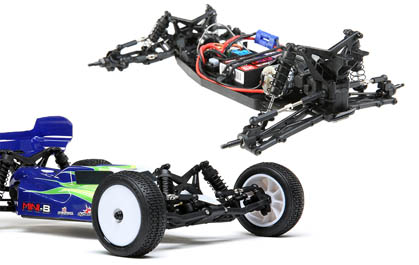 TLR 22 Buggy Suspension Geometry