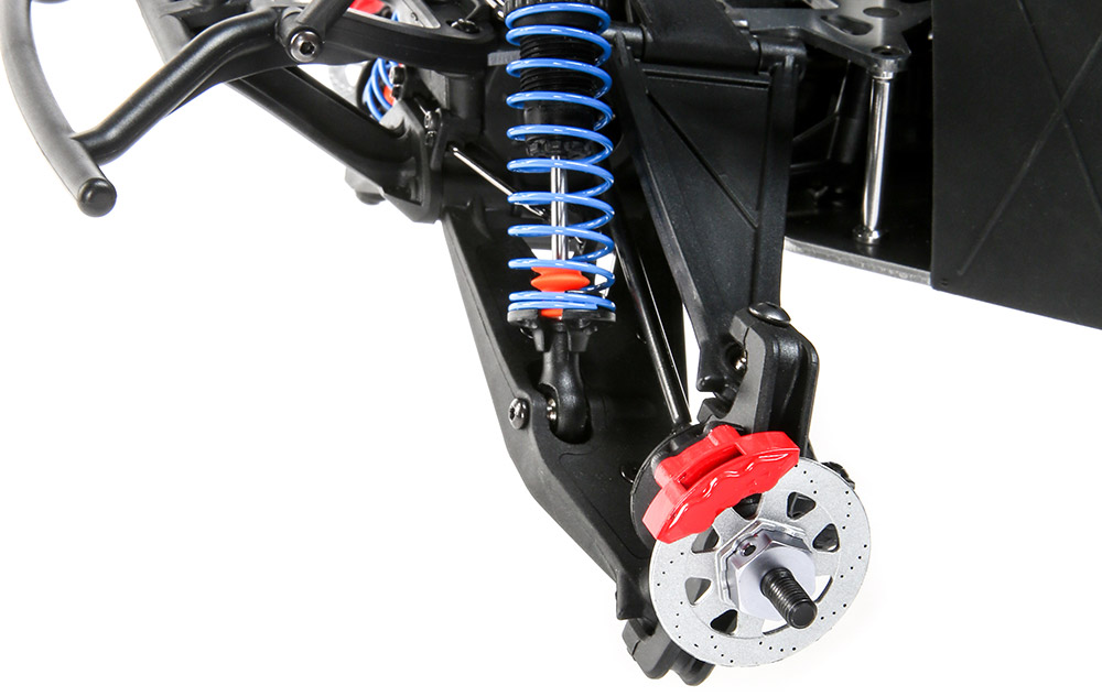 Long Travel Independent A-Arm Front Suspension