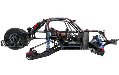 Longer Wheelbase and Rear Trailing Arm