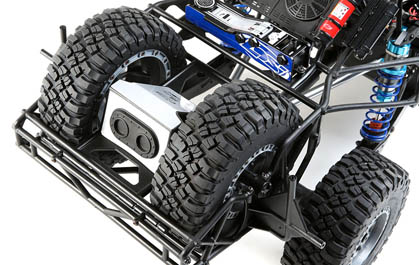 Dual Spare Tires
