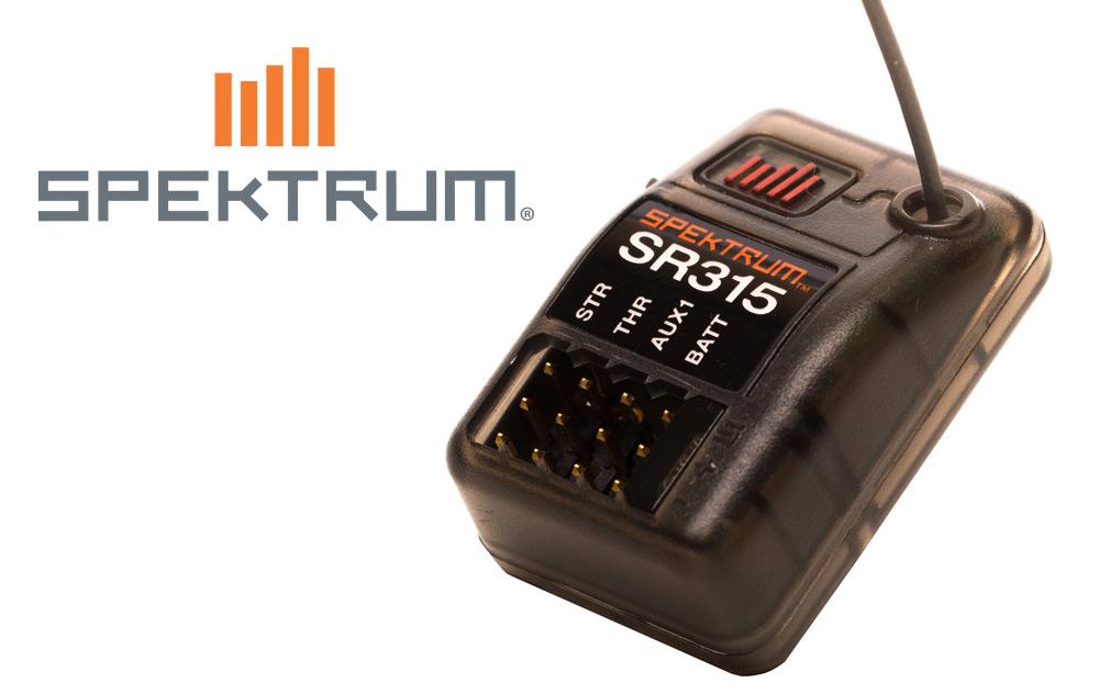 Spektrum<sup>™</sup> SR315 Dual Protocol Receiver