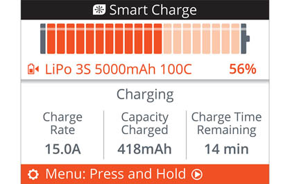 CHARGE TIME REMAINING CLOCK