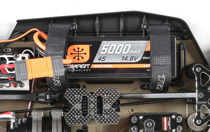 Lightweight Battery Mounting System