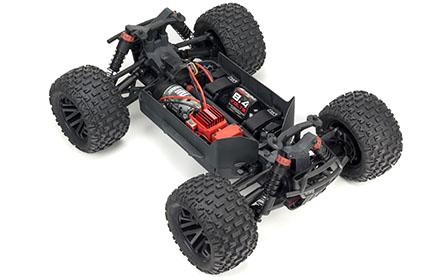 4WD DRIVETRAIN AND SLIDER DRIVESHAFTS