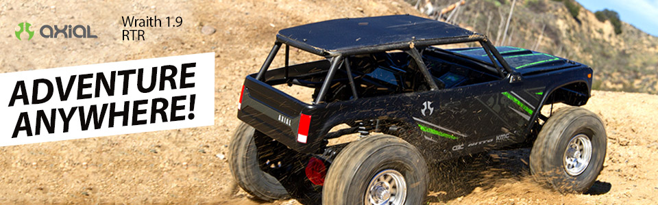 Axial Wraith 1.9 1/10 4WD RTR