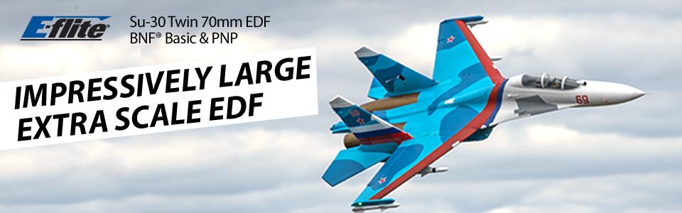 E-flite Su-30 Twin 70mm EDF PNP