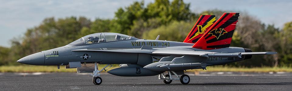 E-flite® F-18 Hornet 80mm EDF Bind-N-Fly®