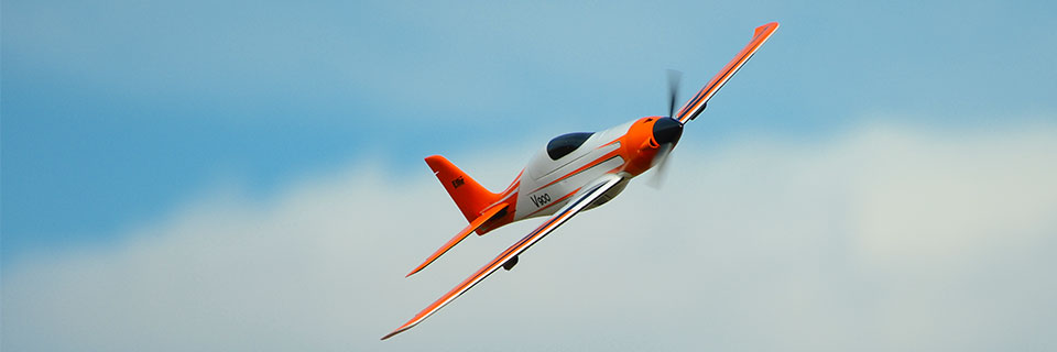 E-flite V900 BNF Basic RC Airplane