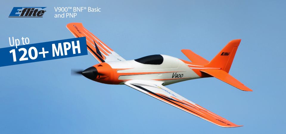 E-flite V900 PNP RC Airplane