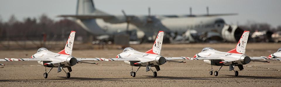 F-16 Thunderbird 70mm EDF BNF Basic
