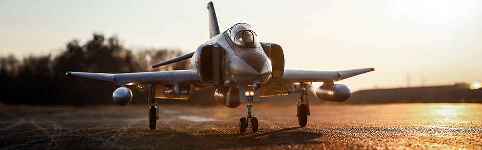 E-flite® F-4 Phantom II 80mm EDF