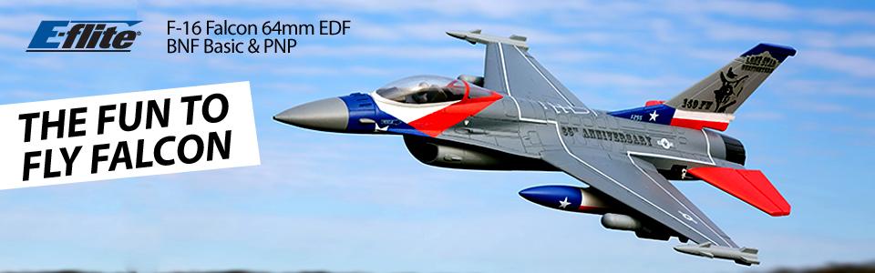 E-flite F-16 Falcon 64mm EDF