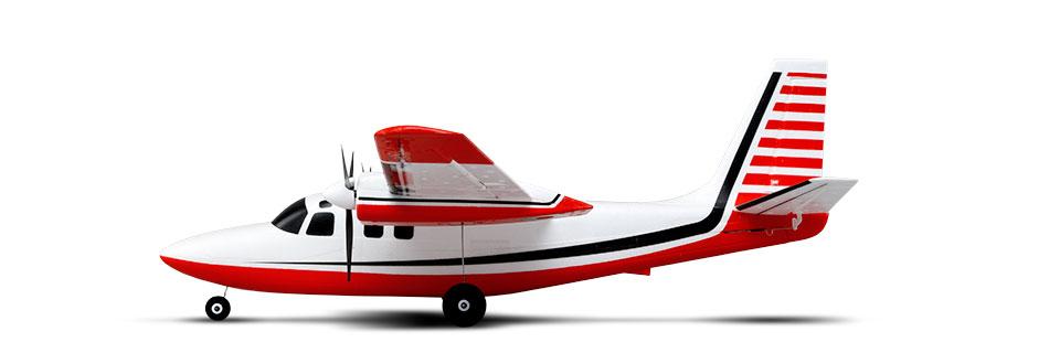 UMX Aero Commander BNF Basic