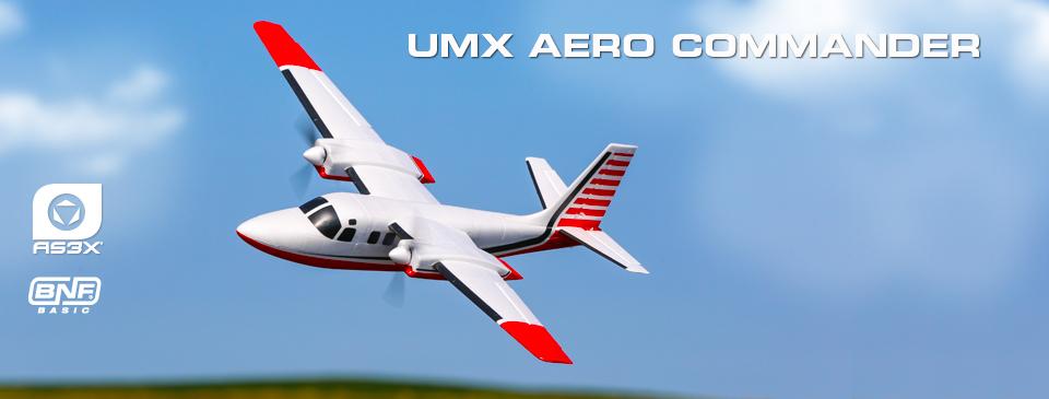 E-flite Aero Commander