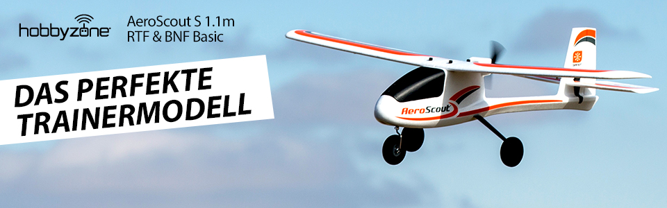 HobbyZone<sup>®</sup> AeroScout™ S 1.1m