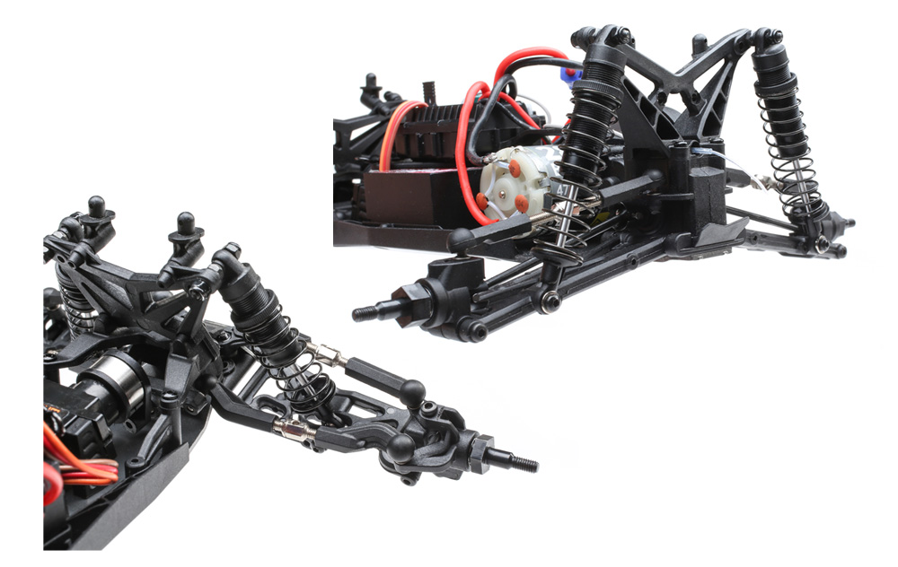 TLR 22T Suspension Geometry