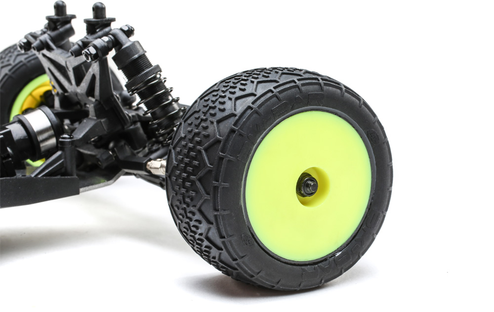 BK Bar Tires with Dish Wheels