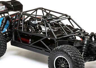 Flip Top Roll Cage with LED Light Bar