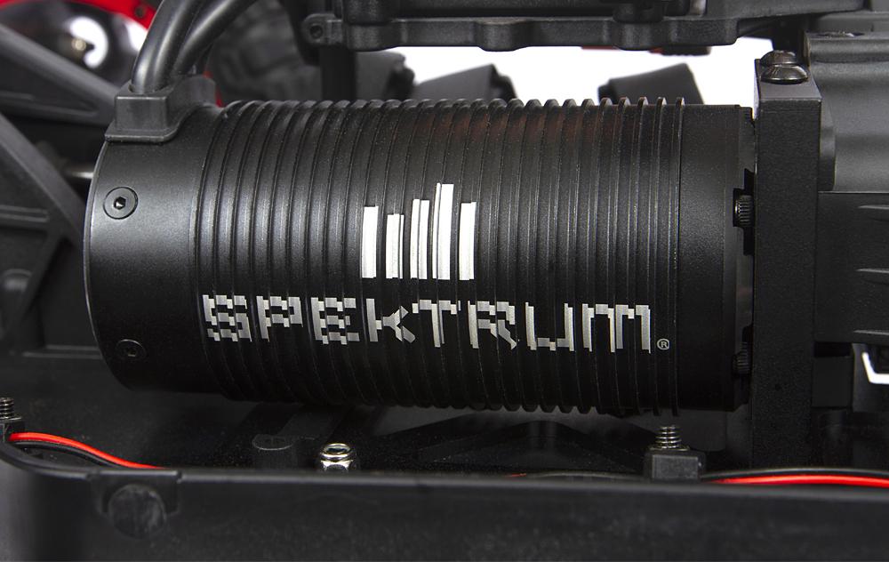 50+ MPH Spektrum Firma 4-Pole 780Kv Brushless Motor