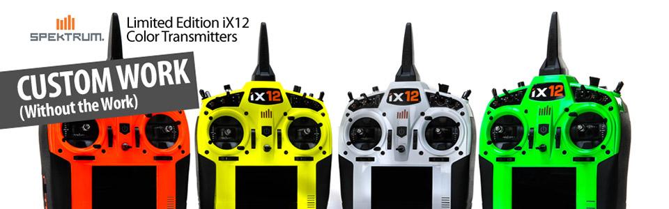Spektrum iX12 Color