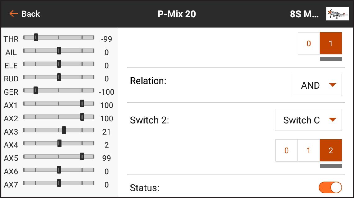 AirWare™ Touch app P-Mix 20